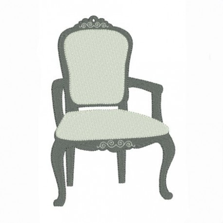achat motif de broderie machine fauteuil voltaire ancien brondons et scrappons. Black Bedroom Furniture Sets. Home Design Ideas